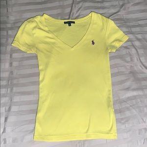 Yellow Ralph Lauren Tee